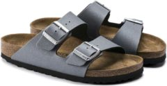 Antraciet-grijze Birkenstock Arizona Icy Metallic Anthracite narrow Icy Metallic - Maat 36