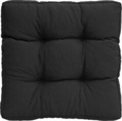 Zwarte Summerset zitkussen 70 x70cm Boulevard black