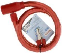 Rode Merkloos / Sans marque Fietsslot Inclusief 2 sleutels