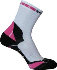 Rode Spring Prevention Socks Short XL White /Red