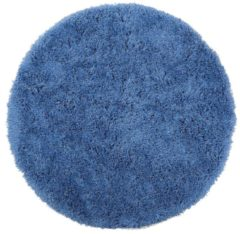 Blauwe Beliani Cide Vloerkleed Polyester 140 X 140 Cm
