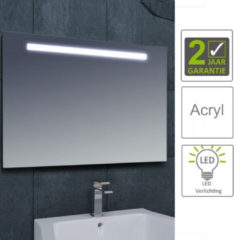 Boss & Wessing BWS LED Spiegel Tigris met Lichtschakelaar 160x80x3.1 cm (incl bevestigingsmateriaal)