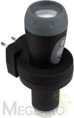 Roestvrijstalen TA Ledzaklamp, noodlamp, nachtlamp 3 in 1 - oplaadbaar