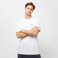 Witte Vans Left Chest Logo Tee Heren T-shirt - White/Black - Maat S