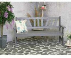 SenS-Line Bretagne 3-persoons houten tuinbank grijs