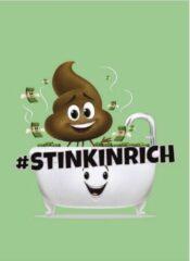 Emoji Schrift A4 Geruit Groen Per Stuk