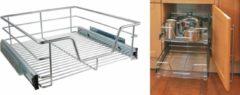 Zilveren Haushalt Hhi 34047 Keukenkast Schuiflade 50 Cm