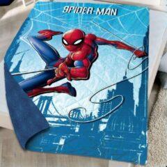 Blauwe Spider-Man Beddensprei 140 x 200 cm