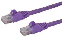 StarTech Cavo di Rete da 10m Viola Cat5e Ethernet RJ45 Antigroviglio