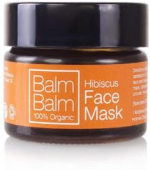 Balm Balm Gezichtsmasker Hibiscus 15 Gram Roze