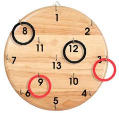 BS Toys Ringwerpen rood/zwart 30 x 30 x 3 cm 26 stuks