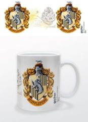 Witte HARRY POTTER - Mug - 300 ml - Hufflepuff Crest