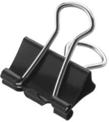 Papierklem Westcott zwart - 15mm metaal doos a 12 stuks