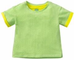 Lichtblauwe Room Seven Meisjes katoenen sweat shirt haco- licht blauw