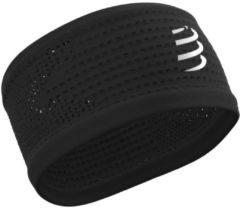 Zwarte Compressport Headband On/Off - Hoofdbanden