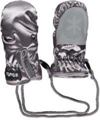 Zilveren Barts Nylon Mitts - Wintersporthandschoenen - Jongens en meisjes - Zilver - Maat XS / 1 (0-2 jaar)
