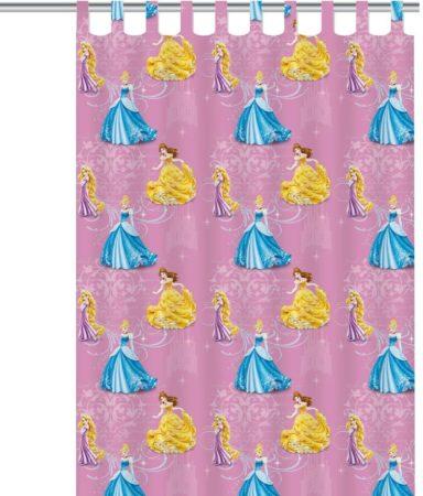 Afbeelding van Disney Princess - Gordijn - Roze - 140x250 cm
