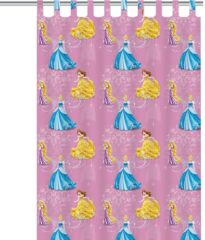 Disney Princess - Gordijn - Roze - 140x250 cm