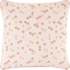 Oranje Dutch Decor Sierkussen Hulda 45x45 Cm Peach - Peach