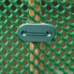Groene Nature Tuinhek bevestigingsset groen 27-delig 6050390