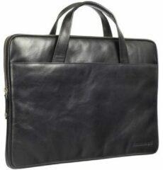 Zwarte Laptoptas Dbramante1928 Silkeborg Leather Sleeve 13 inch