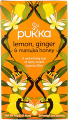 Pukka Org. Teas Lemon Ginger Manuka Honey (20st)