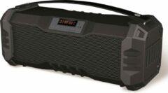 Platinet PMG75B Draadloze stereoluidspreker 11W Zwart, Grijs draagbare luidspreker