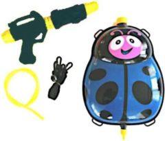 Funny Toys Waterpistool Met Tank 35,5 Cm Blauw/zwart 5-delig
