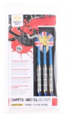 Blauwe Longfield Games Softtip Darts Nickelsilver