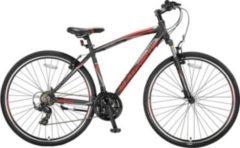 28 Zoll Herren Trekking Fahrrad 21 Gang Hoopfietsen... schwarz-rot