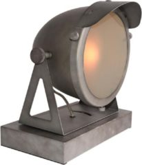 Budget Design Store LABEL51 - Tafellamp Cap - Burned Steel - Metaal - 28x23x30,5 cm
