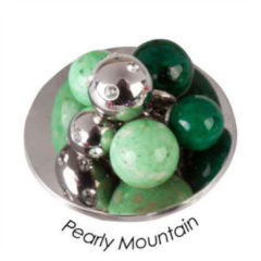 Quoins QMB-04L-GR Munt Pearly Mountain Groen Large