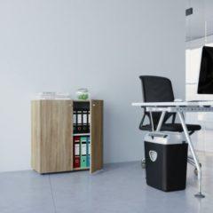 VCM Büroschrank Vandol Mini, Sonoma Eiche-Nachbildung