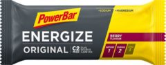 Donkerrode PowerBar Energize Original repen (25 x 55 g) - Repen