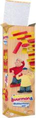 Just Games Stapeltoren Buurman & Buurman Hout Rood/geel