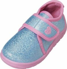 Playshoes Schoenen Meisjes Textiel Turquoise/roze Maat 30/31