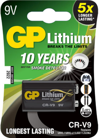 Afbeelding van GP batterijen Gp GP-CR9VC1 Lithium Lr22 Batterij 9 V 1-blister