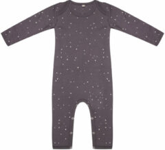 Little Indians Jumpsuit Dots Junior Katoen Grijs/wit Maat 56