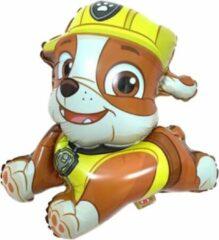 Rubble Ballon - Paw Patrol - Paw Patrol Rubble - Paw Patrol Speelgoed - Ballonnen - 42 x 45 cm