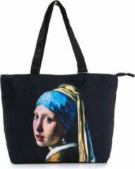 Robin Ruth Shopper Tas Medium 48x31cm Vermeer - Meisje met de Parel