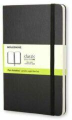 Notitieboekje Moleskine sterk 9 x 14 cm ivoor niet geruit 192 pagina's - zwart