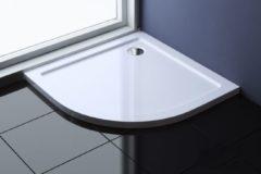 Witte Douchebak laag Best Design 80 x 80 x 4 cm acryl