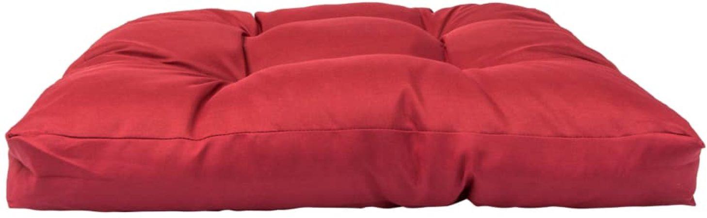 Afbeelding van 5 days Palletkussen 58x58x10 cm polyester rood