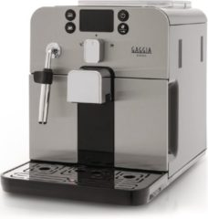 Zilveren Brera Volautomatische espressomachine - Gaggia