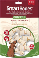 Smartbones Chicken Classic Bone Chews - Hondensnacks - Kip 18 stuks Mini