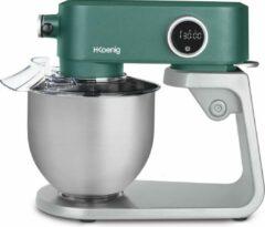 Groene H.KOENIG H. Koenig - Keukenmachine KM128 - Staande mixer - 5 liter - 8 snelheden