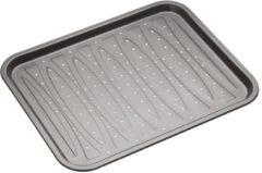 Zwarte Platte bakvorm / bakplaat rechthoekig Geperforeerd, 39cm x 31,5cm - Masterclass