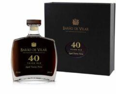 Wijnvoordeel Barão de Vilar 40 Years old Port (1 fles á 50cl)