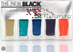 Zwarte The New Black Digital Underground - Christina Rinaldi Nobel Spirits - Nagellak