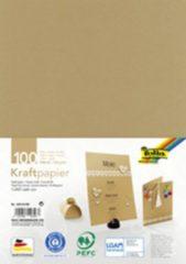 Bruine Folia kraftpapier 120 g sqm A4 100 vel